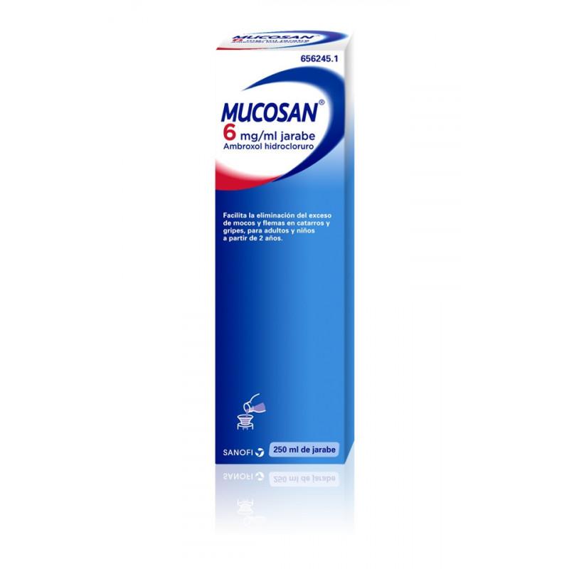 MUCOSAN 6 MG/ ML JARABE , 1...