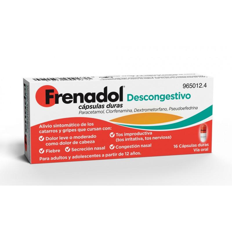 FRENADOL DESCONGESTIVO...