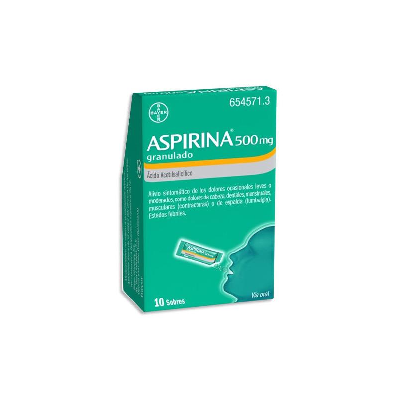 ASPIRINA 500 MG GRANULADO ,...