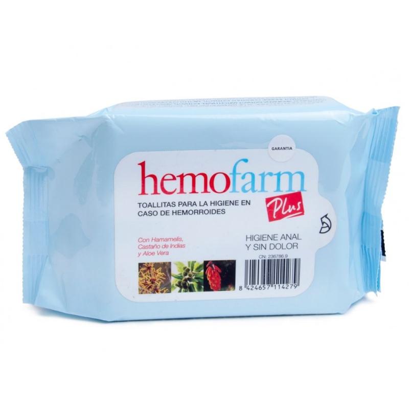 HEMOFARM PLUS TOALLITAS  40 U