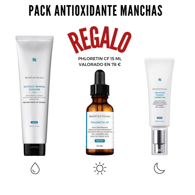 Pack antioxidante manchas