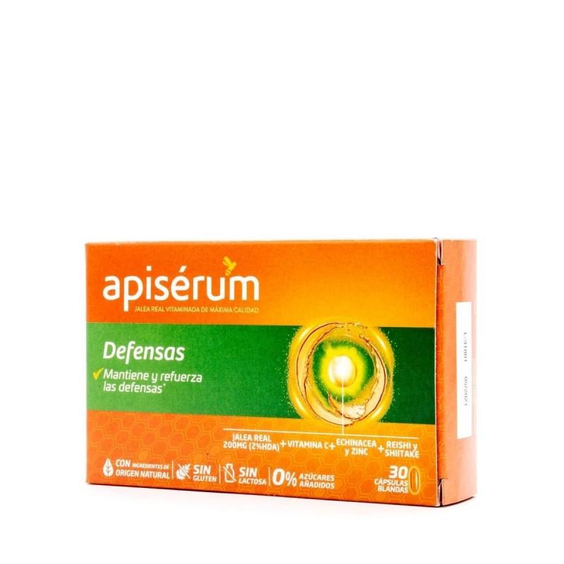 APISERUM defensas 30 capsulas