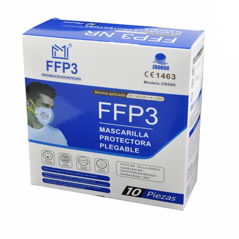 Mascarillas FFP3...