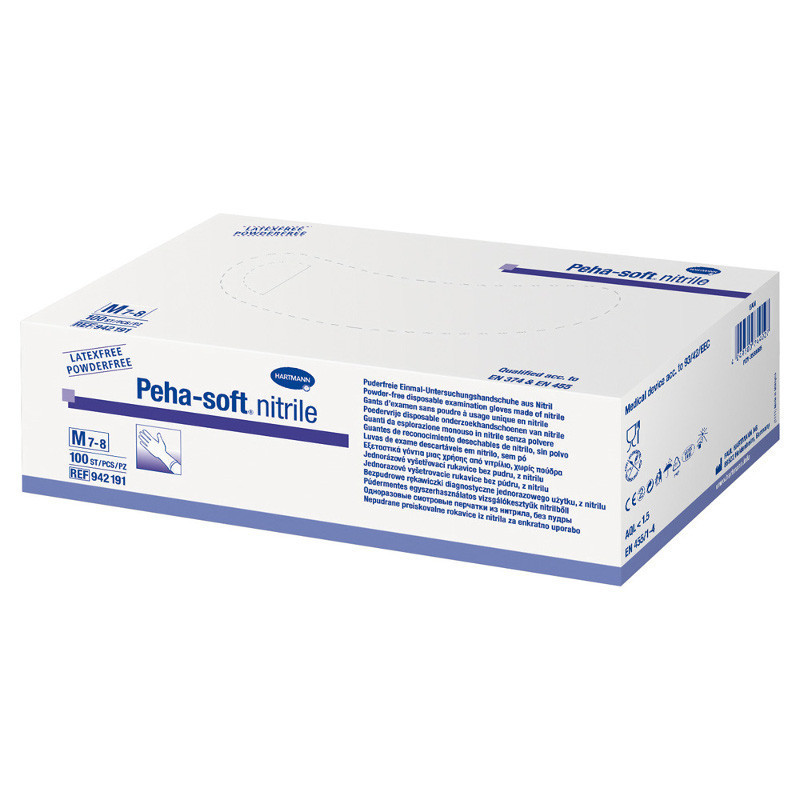 PEHA-SOFT NITRILE GUANTE...