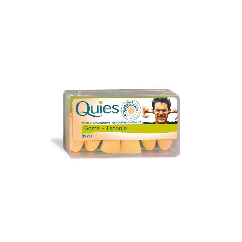 QUIES TAPONES OIDOS GOMA...