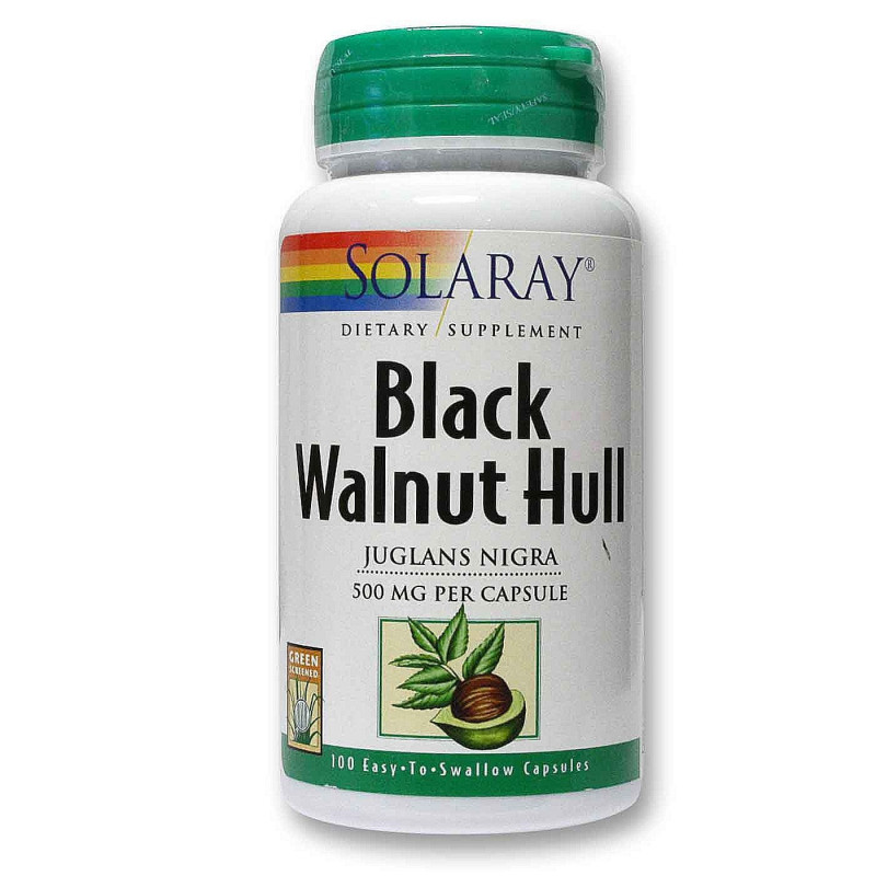 BLACK WALNUT SOLARAY 500MG...