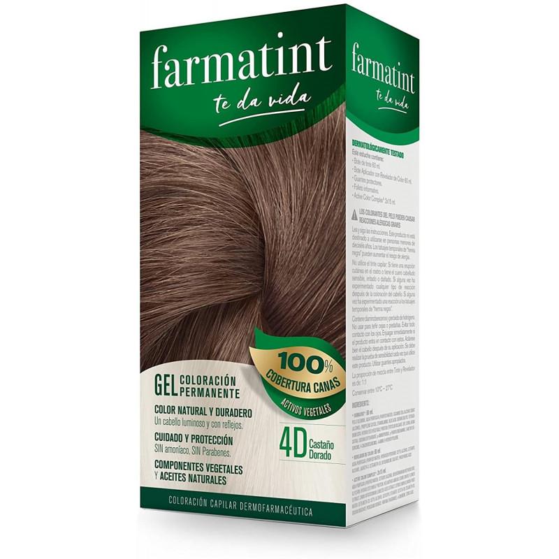 FARMATINT 4D CASTAÑO DORADO...